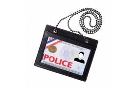 Porte carte de Police tour de cou FR