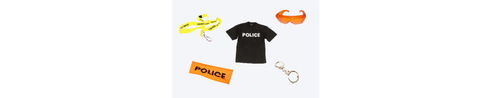 Tenue Police, FBI, accessoires
