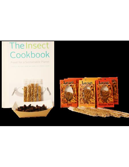 Pack de découverte de la dégustation d'insectes