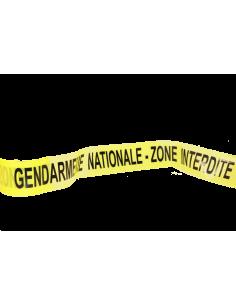 Bande gendarmerie nationale (au mètre)