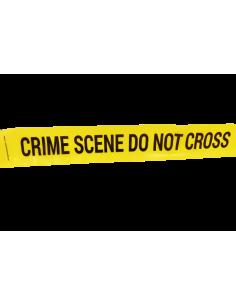 "Bande jaune de police ""Crime Scene Do Not Cross"""