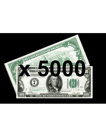 5000 Faux billets 100$