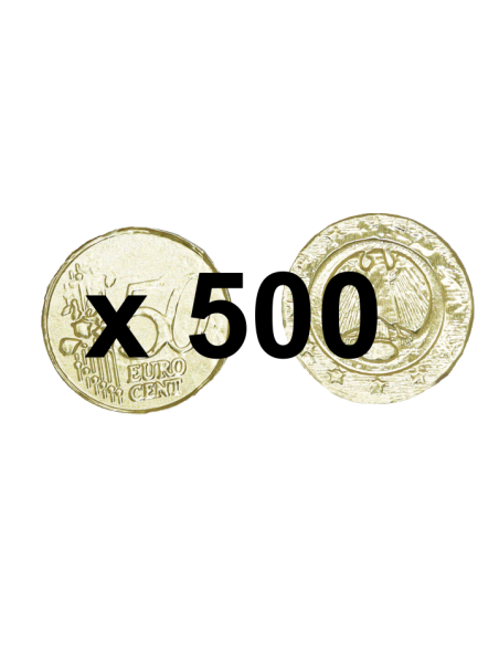 500 pièces en chocolat